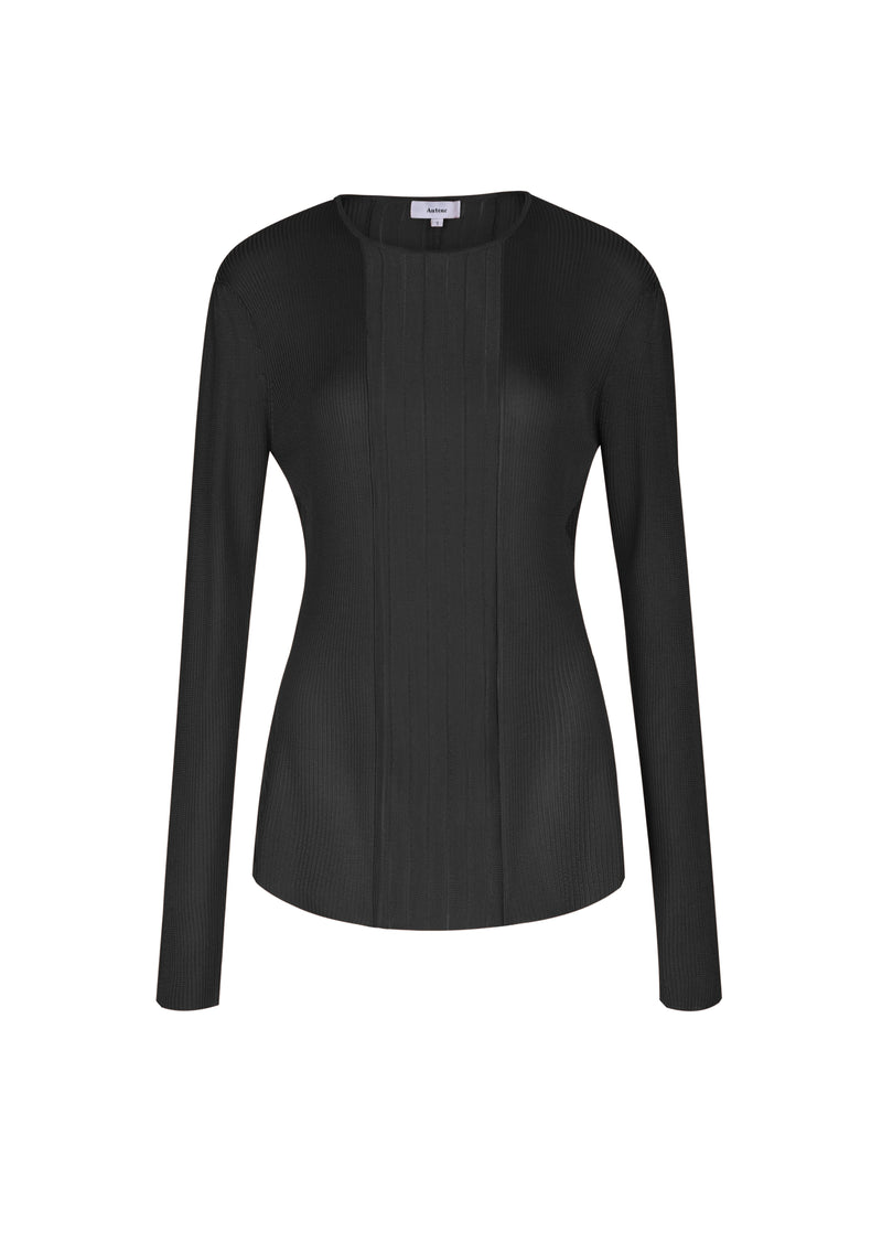 Elsa Long Sleeved Top - Black