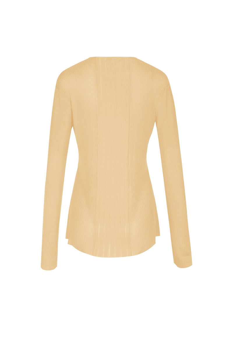 Elsa Long Sleeved Top - Yellow
