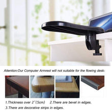 Load image into Gallery viewer, Arm Computer Adjustable Rest Pad Support Black