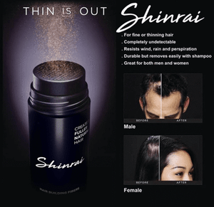 Shinrai Hair Fiber