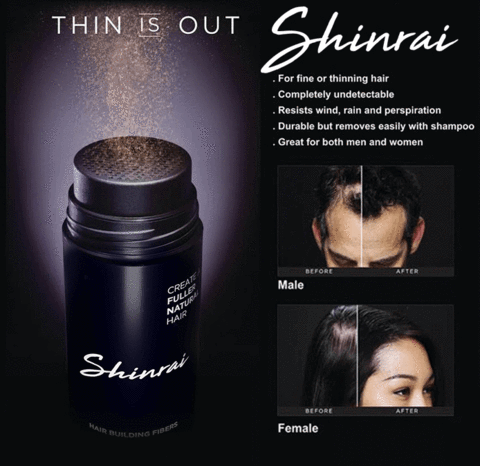 Shinrai Hair Fiber Buy 1 Take 1
