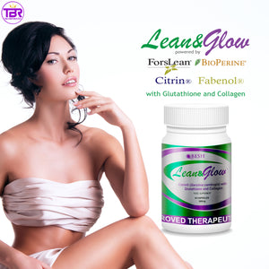 Q'Besh Lean and Glow with Glutathione, Collagen & Fat Blocker