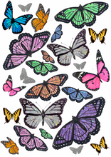 Load image into Gallery viewer, 90s Butterfly Glitzy Wall Print