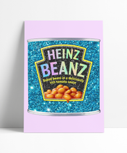 Load image into Gallery viewer, HEINZ BEANZ GLITTER Wall Print