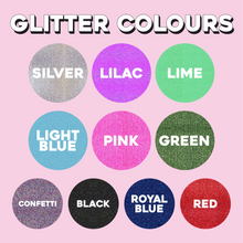 Load image into Gallery viewer, Copy of Custom Glitter Print - Groovy Text