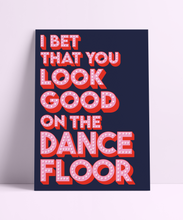 Load image into Gallery viewer, Glitzy Arctic Monkeys Dance floor Wall Print