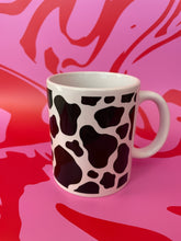 Load image into Gallery viewer, Your Future Looks Bright Cow Print Mug