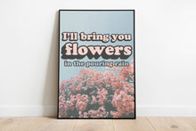 Load image into Gallery viewer, I'll Bring You Flowers Wall Print