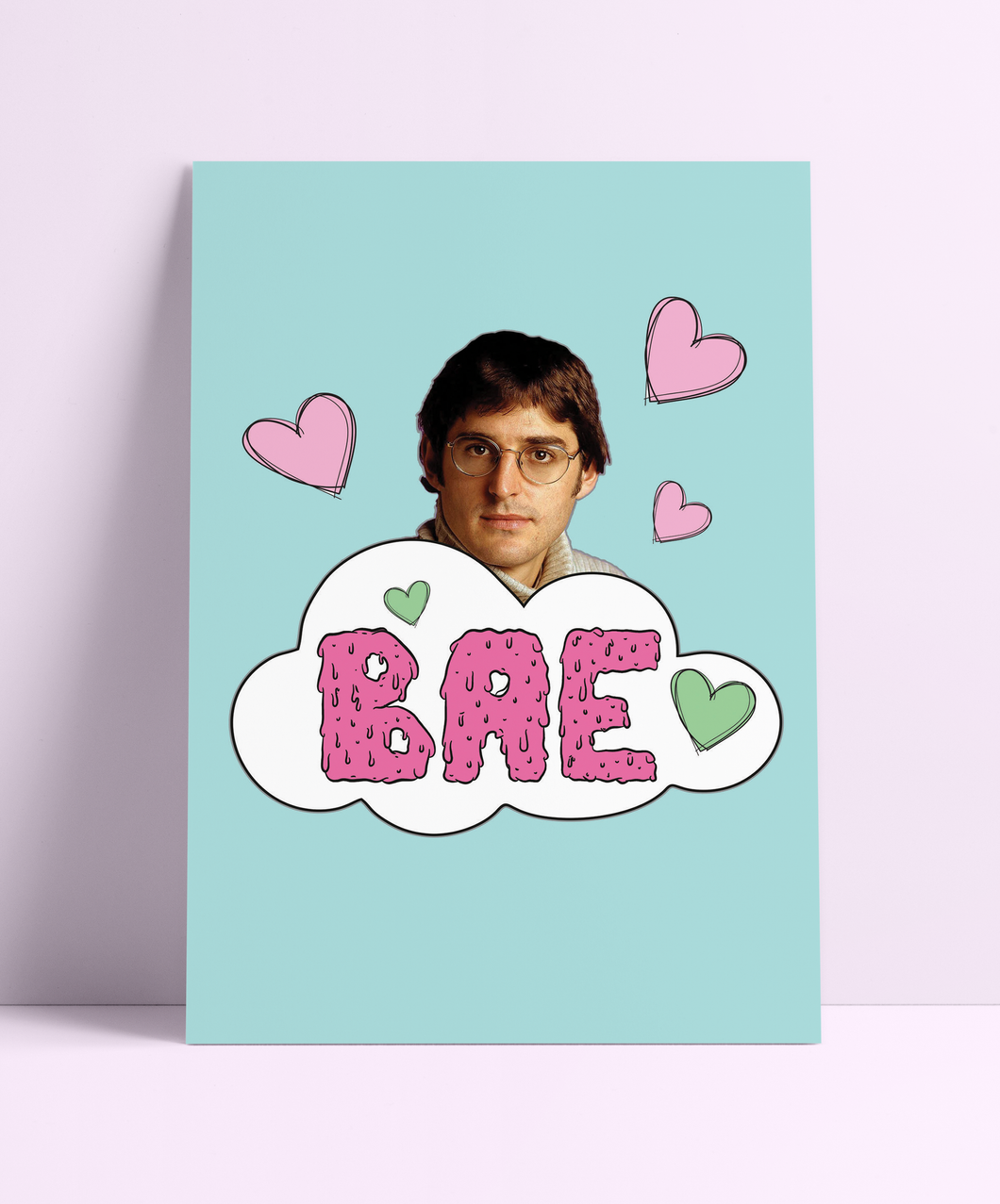 Louis Theroux BAE Wall Print