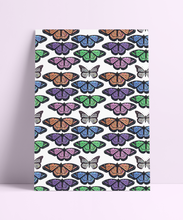 Load image into Gallery viewer, Repeat Pattern 90s Butterfly Wall Print
