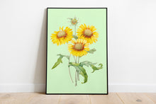 Load image into Gallery viewer, Sunflowers Wall Print