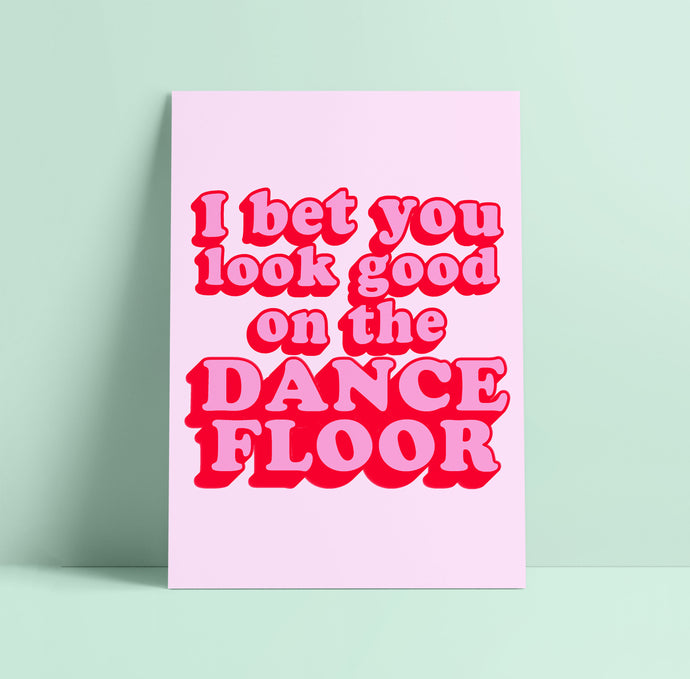 I Bet That You Look Good On The Dance Floor Arctic Monkeys Wall Print
