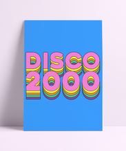 Load image into Gallery viewer, DISCO 2000 Wall Print