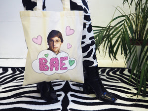 Louis Theroux BAE Tote Bag