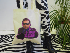It's Britney Bitch Michael Scott Tote Bag