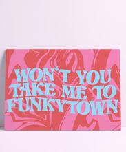 Load image into Gallery viewer, Funkytown Wall Print