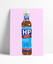 Load image into Gallery viewer, HP Brown Sauce Sauce Wall Print