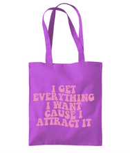 Load image into Gallery viewer, I Attract It Tote Bag