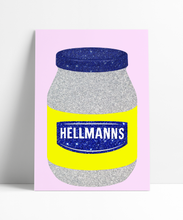 Load image into Gallery viewer, Hellmanns Mayo Sauce Wall Print