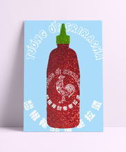 Load image into Gallery viewer, Sriracha Sauce Wall Print