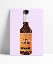 Load image into Gallery viewer, Lea & Perrins Worcester Sauce Wall Print
