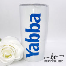 Load image into Gallery viewer, Insulated Coffee Tumbler - White