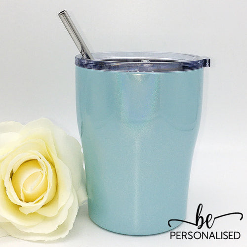 Insulated Tumbler - Shimmer Light Blue