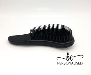 Black Detangling Hair Brush