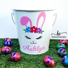 Load image into Gallery viewer, Easter Bucket - Girl Bunny