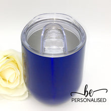Load image into Gallery viewer, Plain Coffee/Wine Insulated Tumbler - Royal Blue