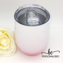 Load image into Gallery viewer, Ombré Coffee/Wine Insulated Tumbler - Pink