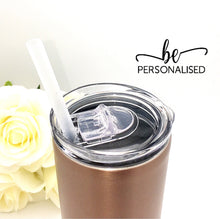 Load image into Gallery viewer, Tall Insulated Tumbler - Rose Gold