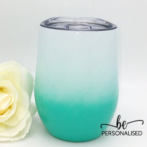 Ombré Coffee/Wine Insulated Tumbler - Mint