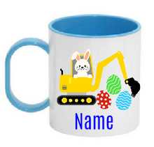 Load image into Gallery viewer, Plastic Easter Mug -  Tractor / Truck