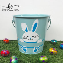 Load image into Gallery viewer, Easter Bunny Bucket - Blue