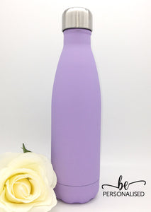 Insulated 500ml Drink Bottle - Matt Light Purple