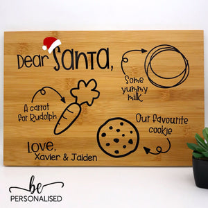 Cookes for Santa Tray/Board
