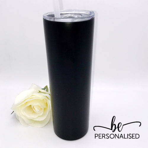 Tall Insulated Tumbler - Black