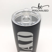 Load image into Gallery viewer, Insulated Coffee Tumbler - Black