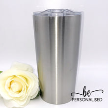 Load image into Gallery viewer, Insulated Coffee Tumbler - Stainless Steel