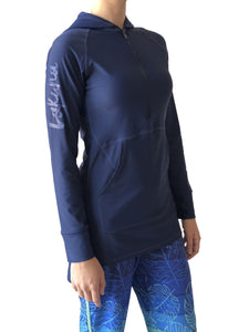 Navy Logo Swim Tunic