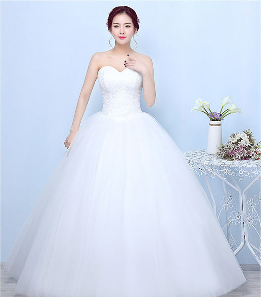 The Aria Sleeveless Full Tulle Top Lace Ball Gown Style Wedding Dr Broke Bride Dresses