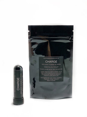 'CHARGE' ESSENTIAL OIL INHALER