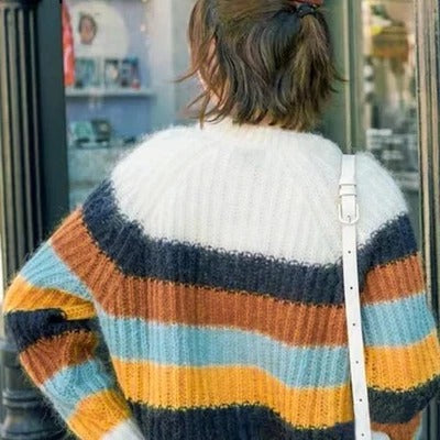 Warm Stripe Sweater