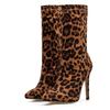 Leopard Print Ankle Boots - LeFabStyle™