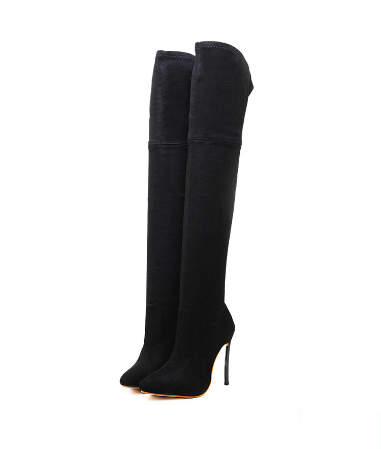 Ellie Thigh High Boots - LeFabStyle™