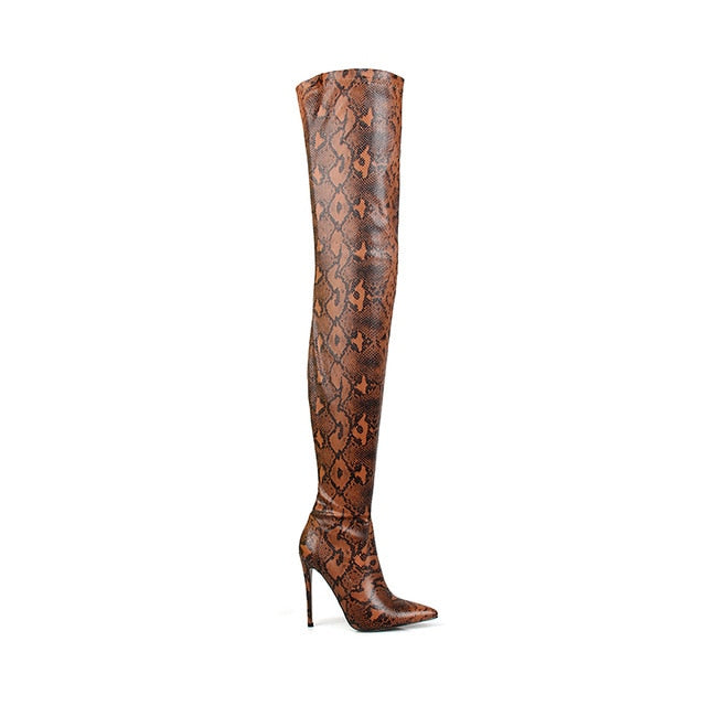 Prestine High Thigh Boots - LeFabStyle™