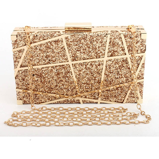 Nora Sequined Clutch Bag