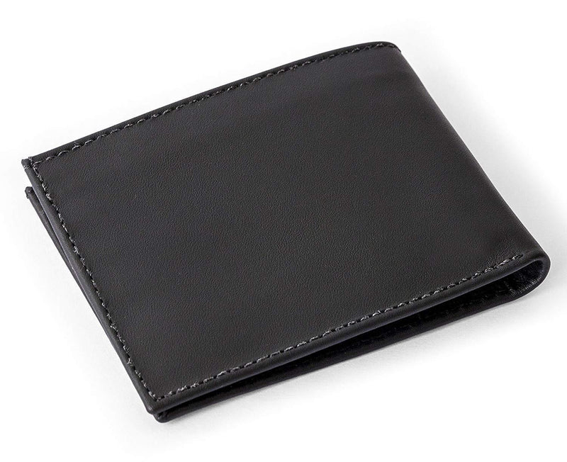 Cape Horn Apparel Black Bifold Wallet (Carbon sail in the inside)