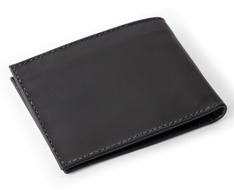 Cape Horn Apparel Black Bifold Wallet (sail in the cover)
